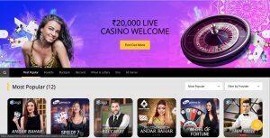 10cric casino - Live Casino